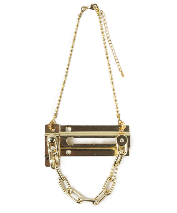 Chain Door Lock Necklace
