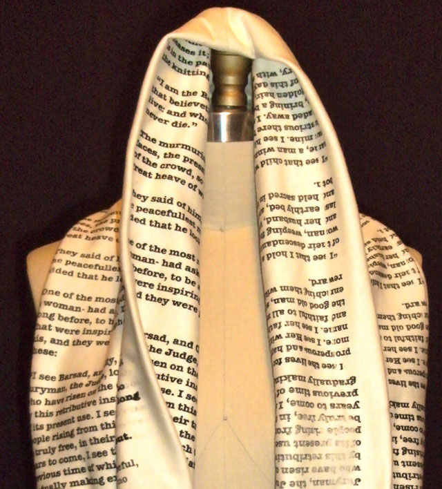 Book Scarves by Tori Iannarino