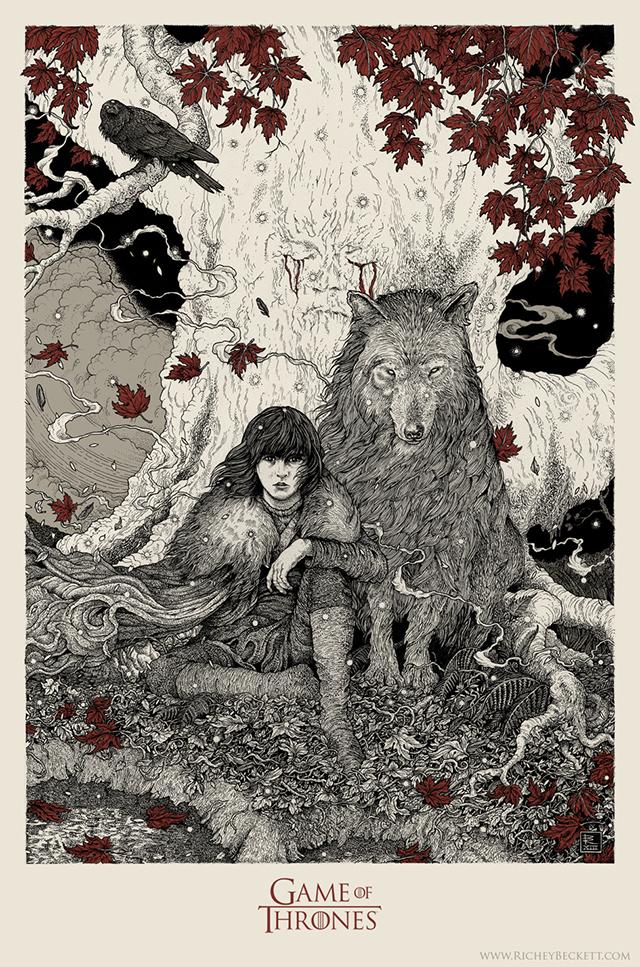 Bran Stark by Richey Beckett
