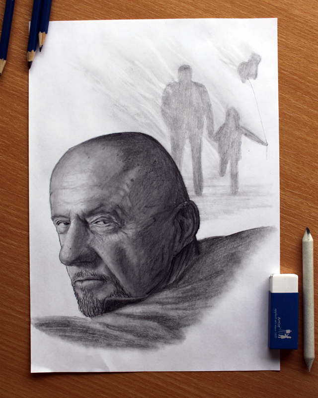 Breaking Bad : Mike Ehrmantraut by Dino Tomic