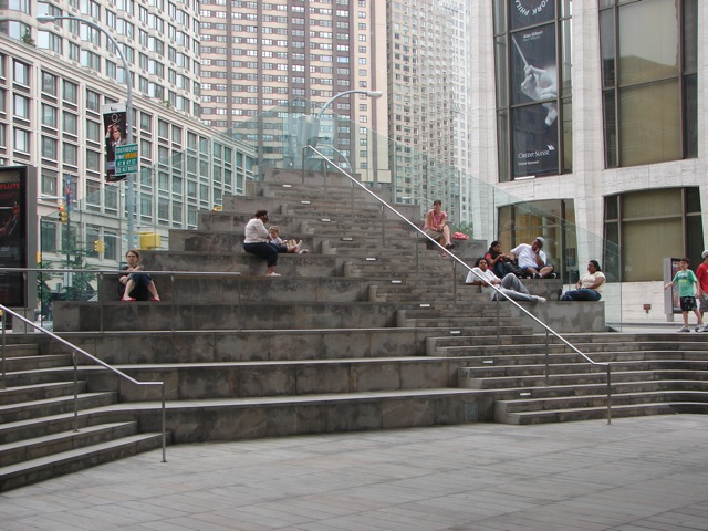 The Step Seats Of New York City