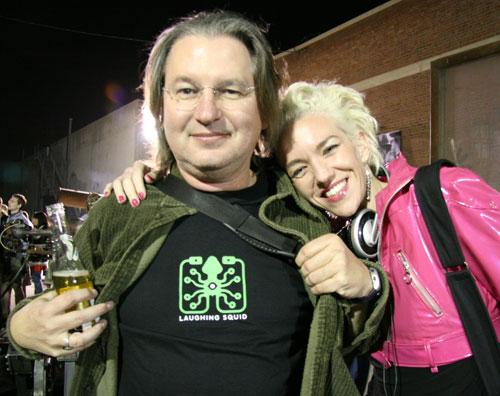 Bruce Sterling & Xeni Jardin