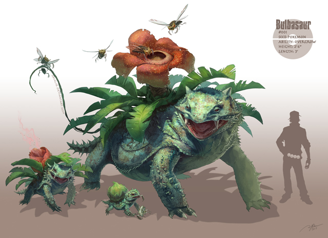 -Bulbasaur- by R.J. Palmer