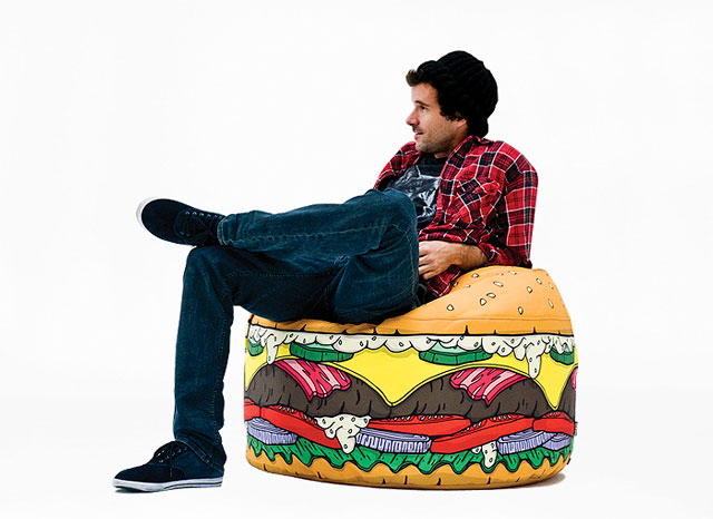 Sitting on the Burger