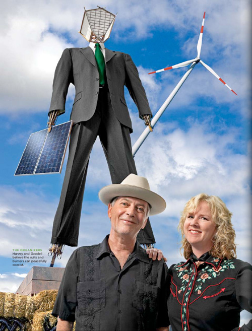 The Business Side of Burning Man Featured in Business 2.0