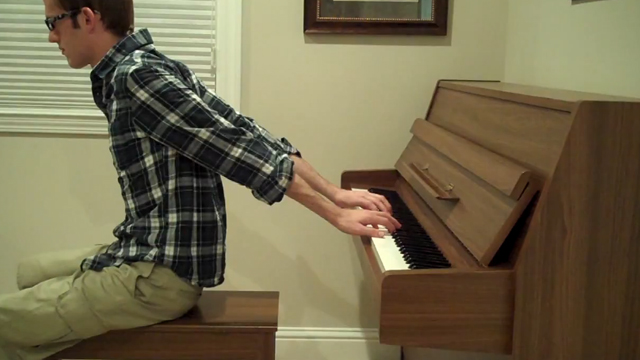 Super Mario Theme by The Backwards Piano Man