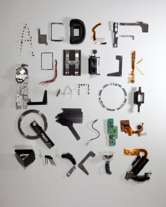 Camera Font by Stefan Abrahams