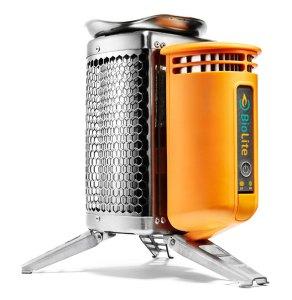 BioLite clean burning wood stove