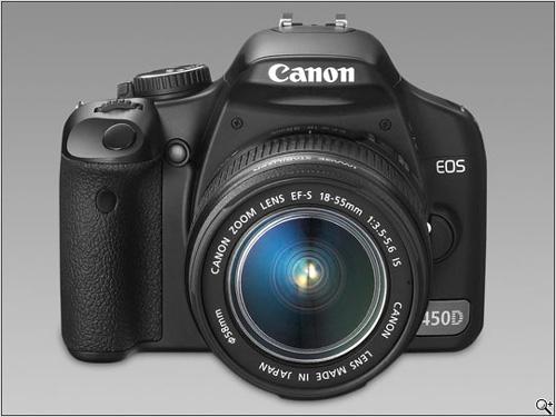Canon Digital Rebel XSi (450D) & Fujifilm FinePix F100fd
