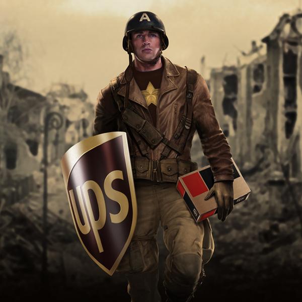 Captain America UPS