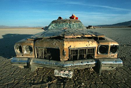 Car Hunt '95, A Remote Control Station Wagon Desert Safari