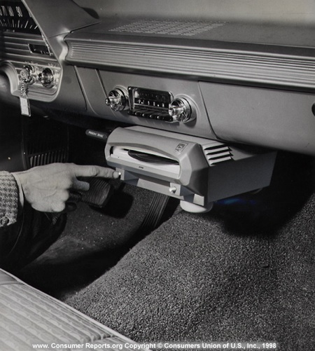 Consumer Reports' Vintage Test Photos
