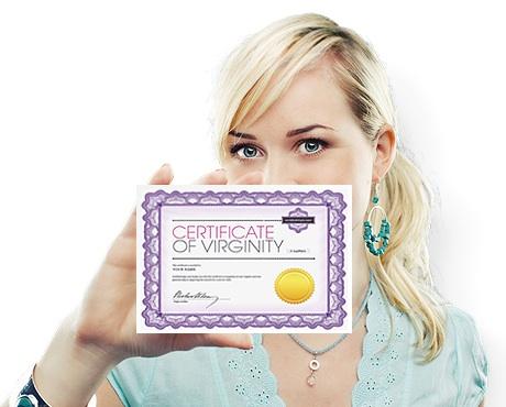 Certified Virgin