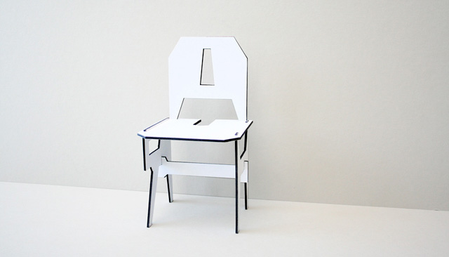 Chair/Chair by Eric Ku