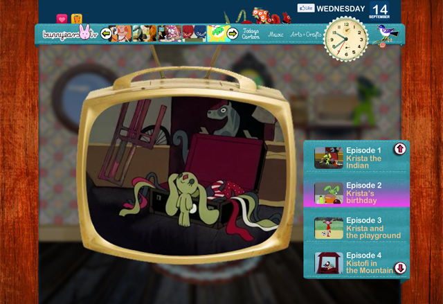 BunnyEars tv, A Collection of Offbeat & Foreign Children's Shows