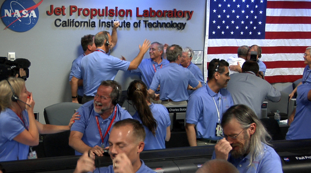 The Mars Science Laboratory (MSL) team