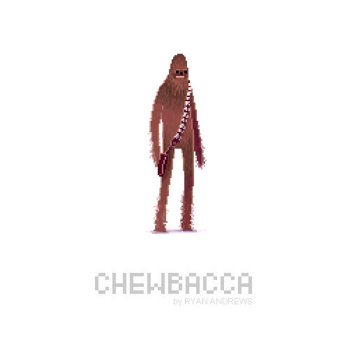 Star Wars Pixel Art by Ryan Andrews