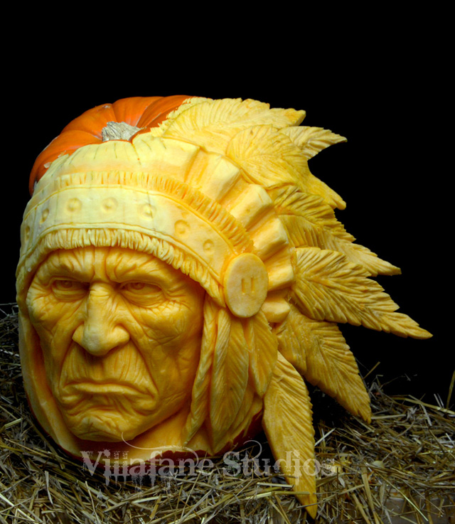 3D Pumpkin Carving Patterns http://laughingsquid.com/realistic-3d-pumpkin-carvings-by-food-sculptor-ray-villafane/