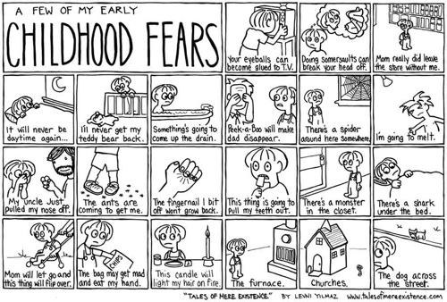 A Few of My Early Childhood Fears