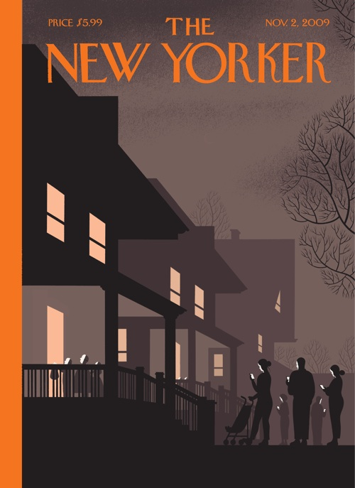the new yorker halloween cover by chris ware - Halloween Cover Pictures