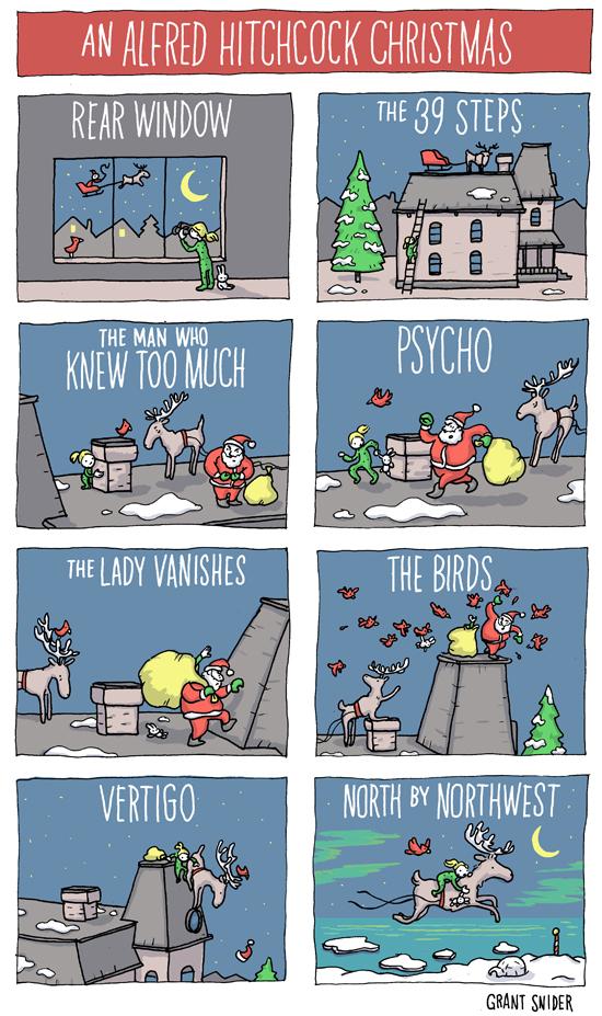 An Alfred Hitchcock Christmas