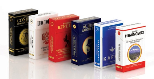 Cigarette Pack Books
