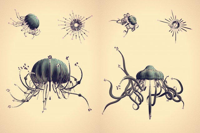 Cindermedusae by Marcin Ignac