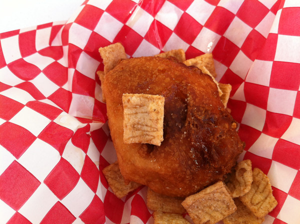Deep-Fried Cinnamon Toast Crunch