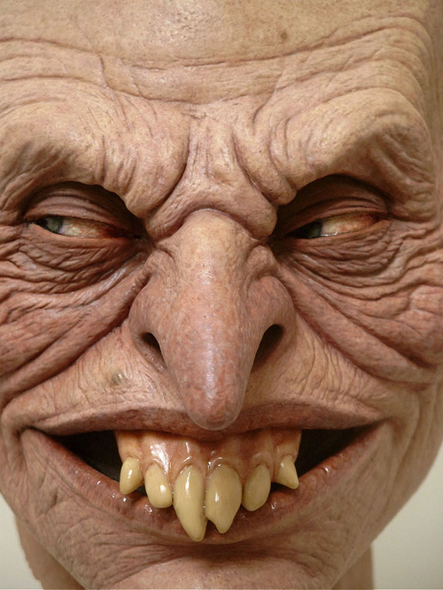 monster sculptures by Jordu Schell