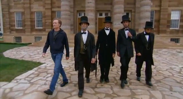 Conan Visits the Abraham Lincoln Presidential Museum & Gift Shop