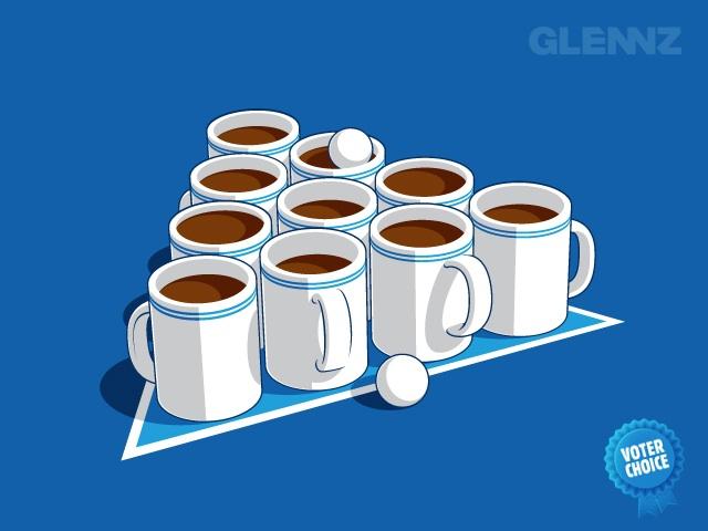 coffee-pong