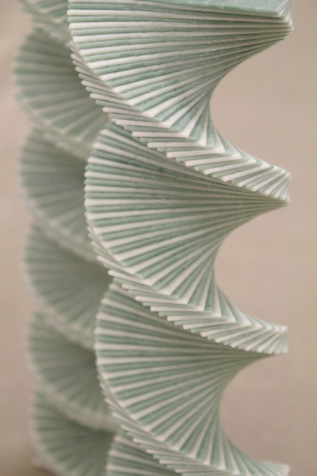 chewing gum sculptures by Jeremy Laffon