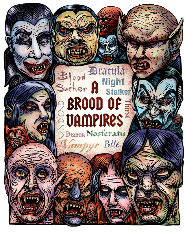 A Brood of Vampires by Chet Phillips