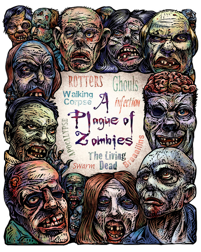 A Plague of Zombies by Chet Phillips