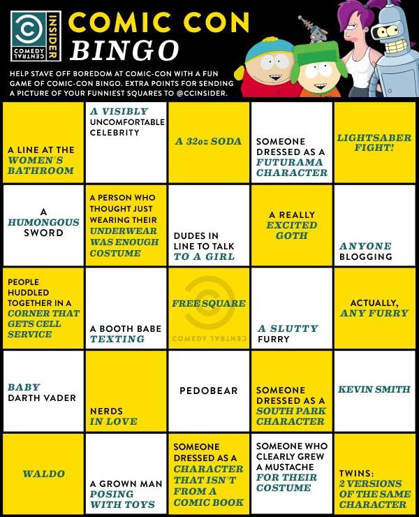 comic-con-bingo