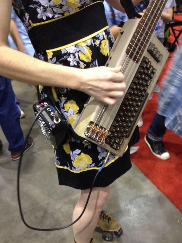 Commodore 64 Bass Guitar by Jeri Ellsworth
