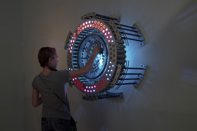 Concentricity light sculpture series by Joshua Kirsch