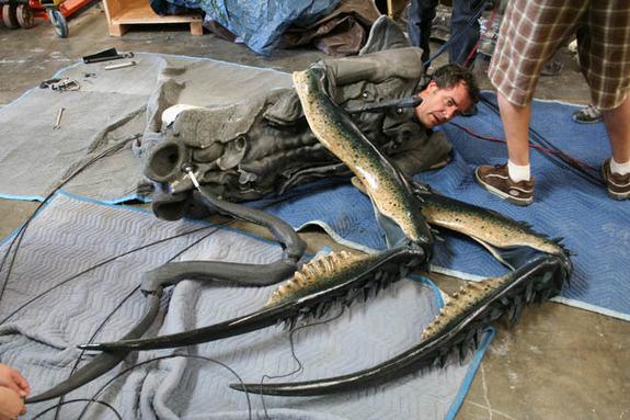 Creature creator and actor Tom Woodruff, Jr.