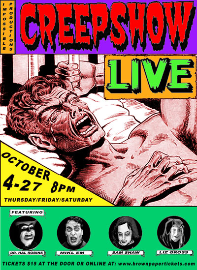 Creepshow Live at The Dark Room