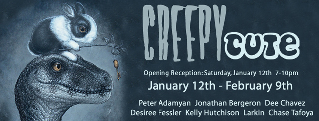 Creepu Cute Group Art Show at WWA Gallery