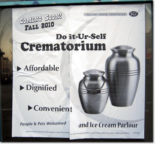 Do It Your Self Crematorium
