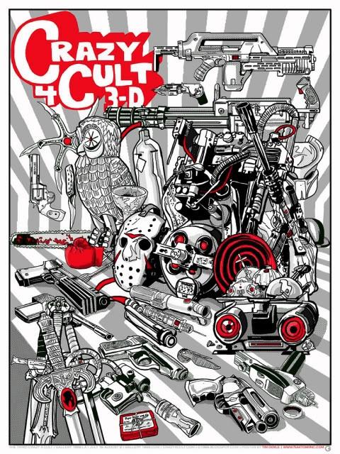 Crazy 4 Cult: 3-D