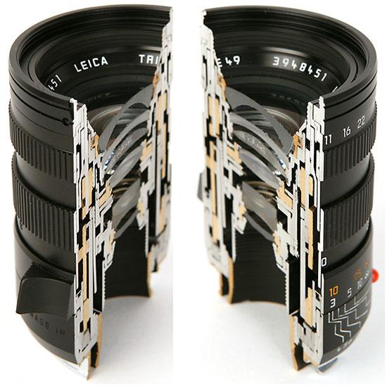 Leica Lens Cutaways
