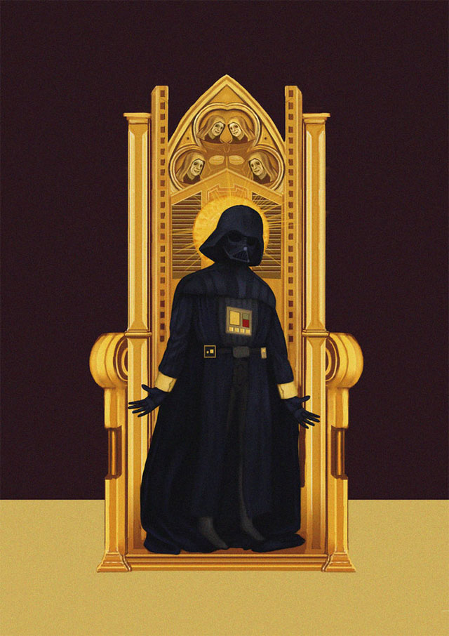 Star Wars as Medieval Art