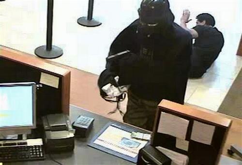 Darth Vader Robs Bank