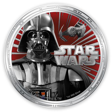 Star Wars Legal Tender Collectible Coins Issued By New