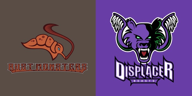 Dungeons & Dragons Themed Sports T-Shirts