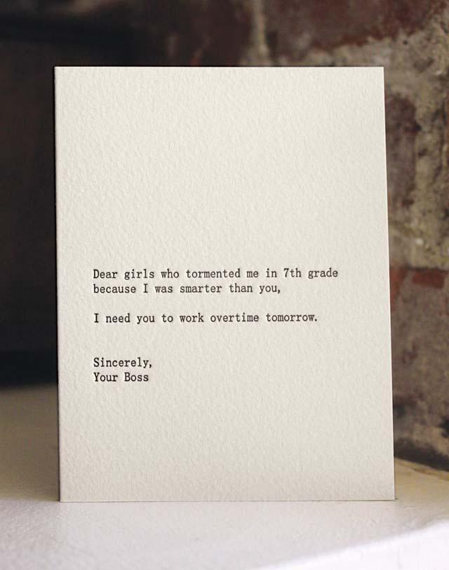 Dear Blank Please Blank
