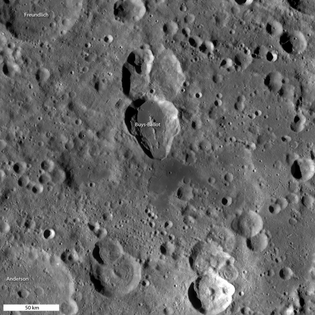 GLD100 NASA High Resolution Map of the Moon