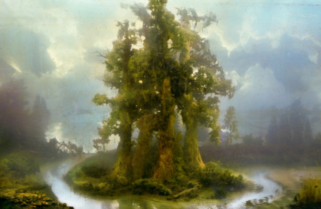 Flooded Landscape Dioramas Photographs by Kim Keever